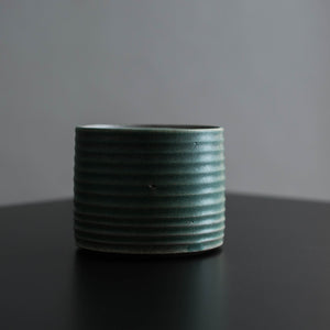 Small Ribbed Catch-All Jar
