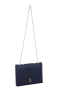 CLASSY NOTE-BAG NAVY BLUE ORANGE