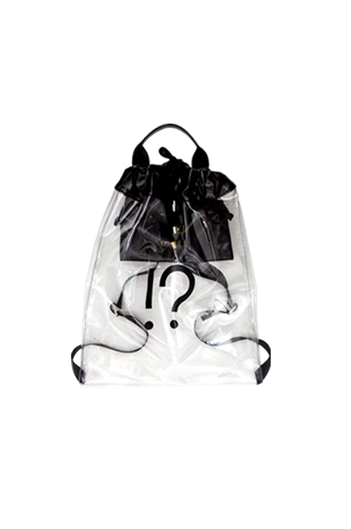 WHY NOTE!? BACKPACK BLACK