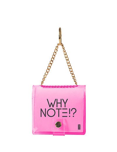 MINI KEYCHAIN NOTEBOOK PINK