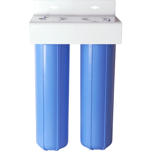 "Deionization Water System | Dual 2.5"" x 20"" 
