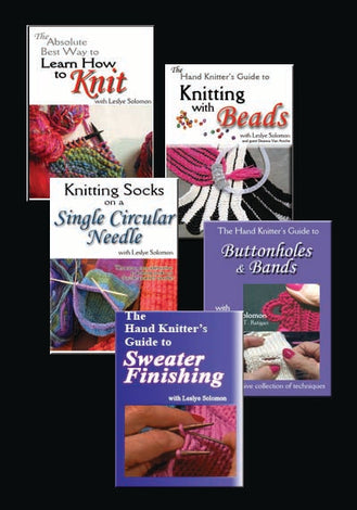 Instructional Hand-Knitting DVDs