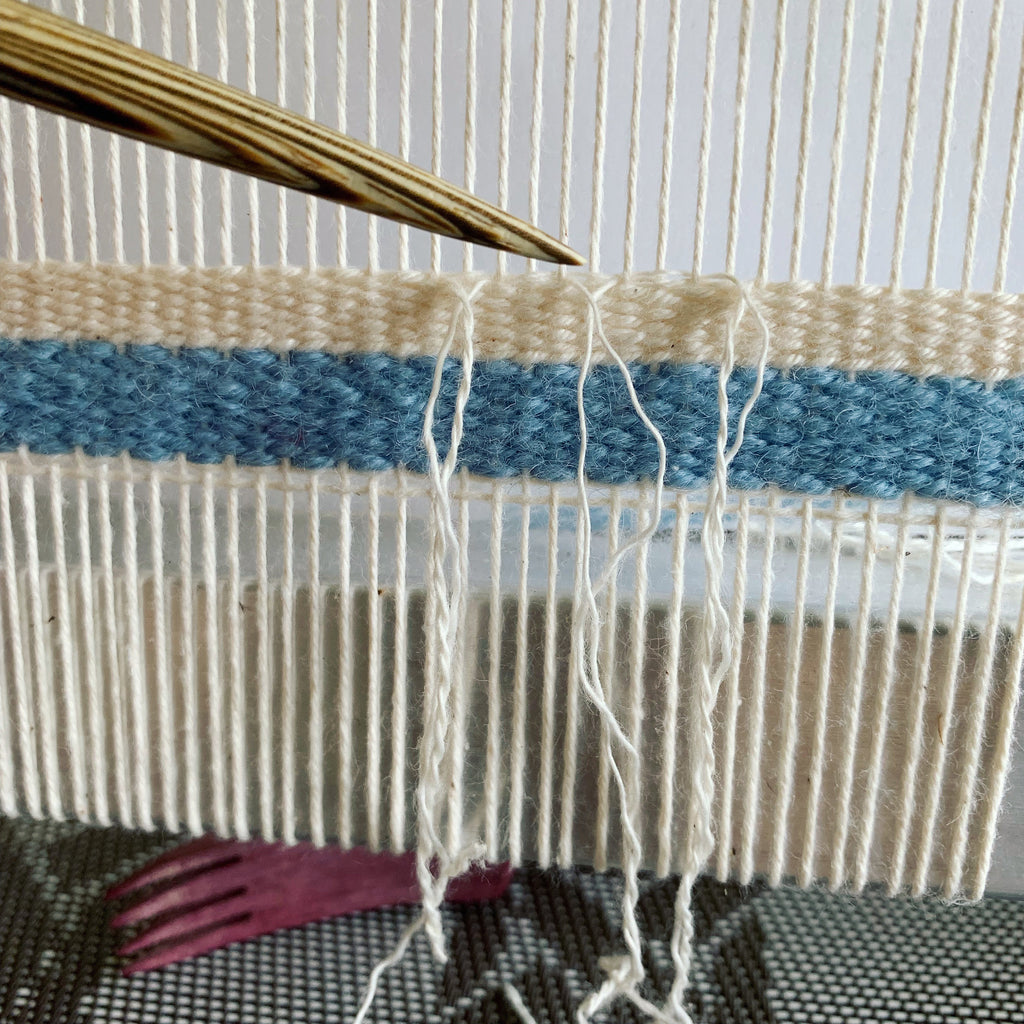 Splicing: Weaving in Your Ends