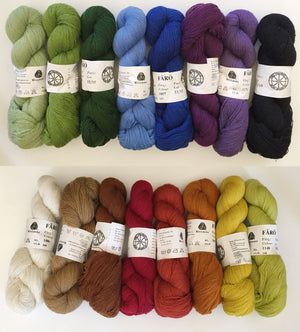 FARO Yarn from Sweden: Tapestry Yarn Starter Package.