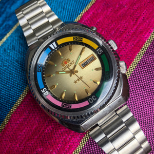 Colourful Orient watch