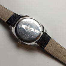 vintage oris watch caseback