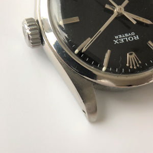 Rolex oyster case stainless steel
