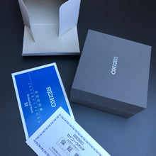 Seiko Japanese watch booklet and box