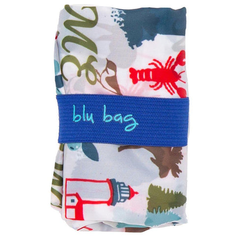 Maine Blue Blu Bag Reusable Shopping Bags