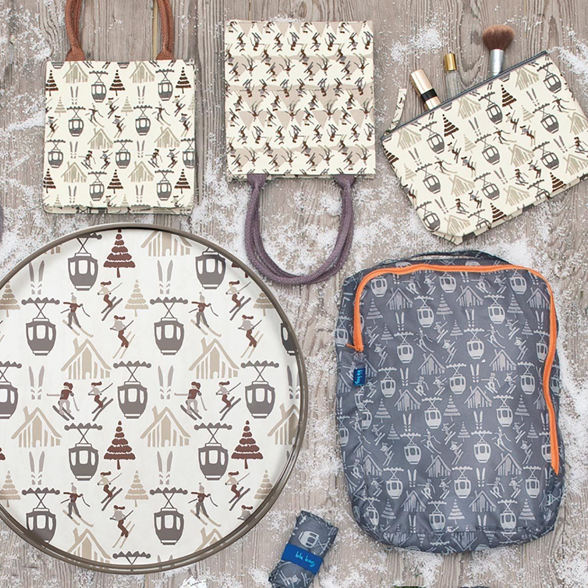 Mountain Fun Itsy Bitsy Gift Bag, Pack of 8 (Price is per Bag) - 8/25
