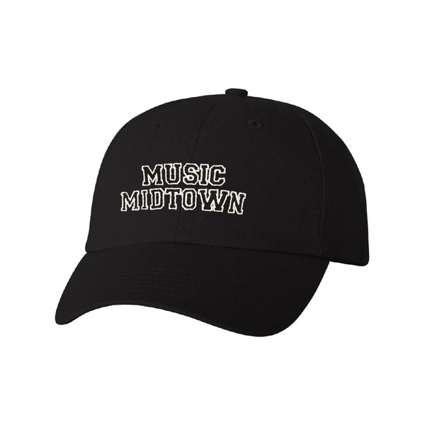 Black Varsity Dad Hat