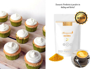 Turmeric Probiotics & Golden Clip Spoon - Wellness Lab Ltd