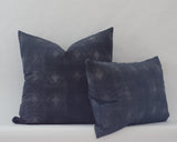 Jett Cushion Cover in Cetacean Blue