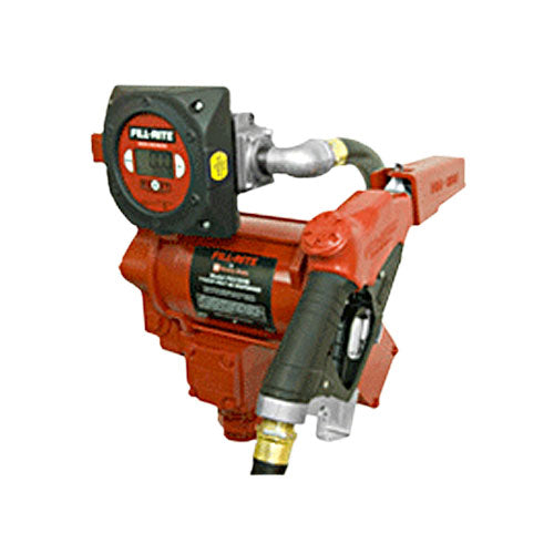 FILL-RITE FR319VB  Pump with Hose, Ultra High Flow Nozzle & 900D Meter - PETRO