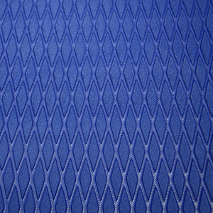"Hydroturf Sheet - 40"" x 62"" - Royal Blue Moulded Diamond with 3M Adhesive"