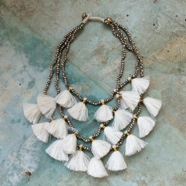 Bluma - Gia Necklace, Salt
