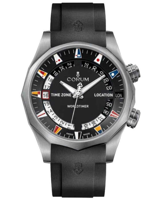 Corum Admiral Legend 47 Black Dial Men's Watch