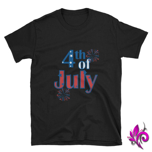 4th of July Black / S Express Tee