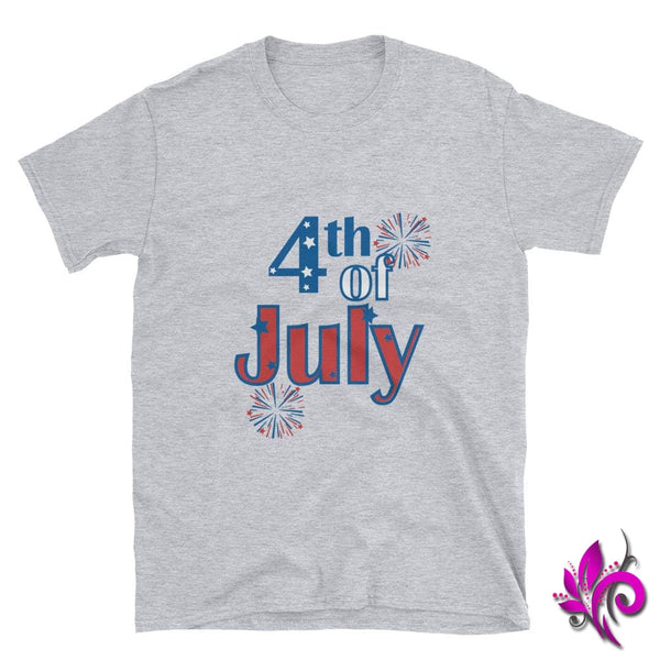 4th of July Sport Grey / S Express Tee