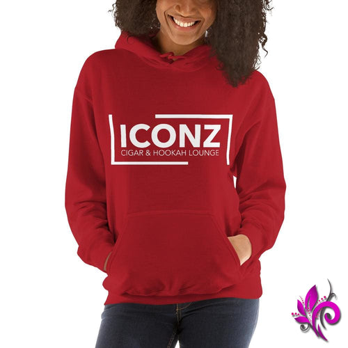 ICONZ Unisex Hoodie Red / S ICONZ