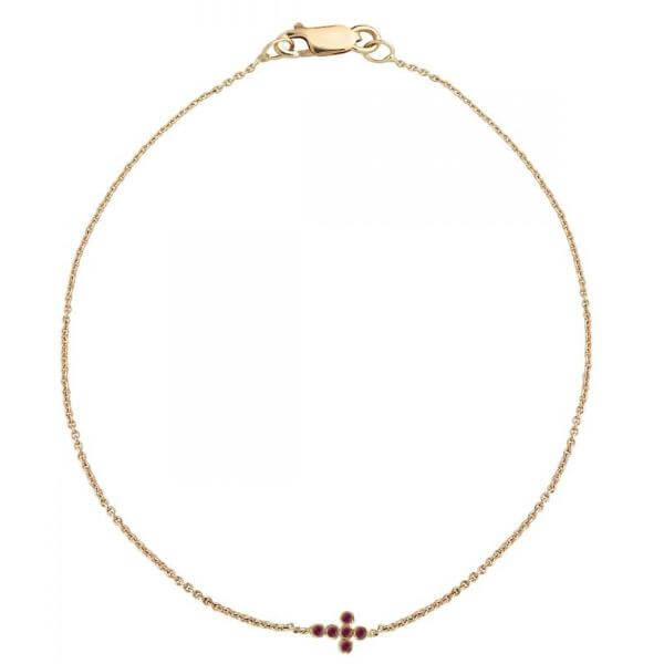 Mini Cross Bracelet P-Ru