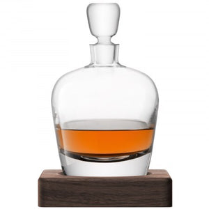 LSA Whisky Arran Decanter & Walnut Base 1L