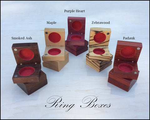 Handmade Ring boxes