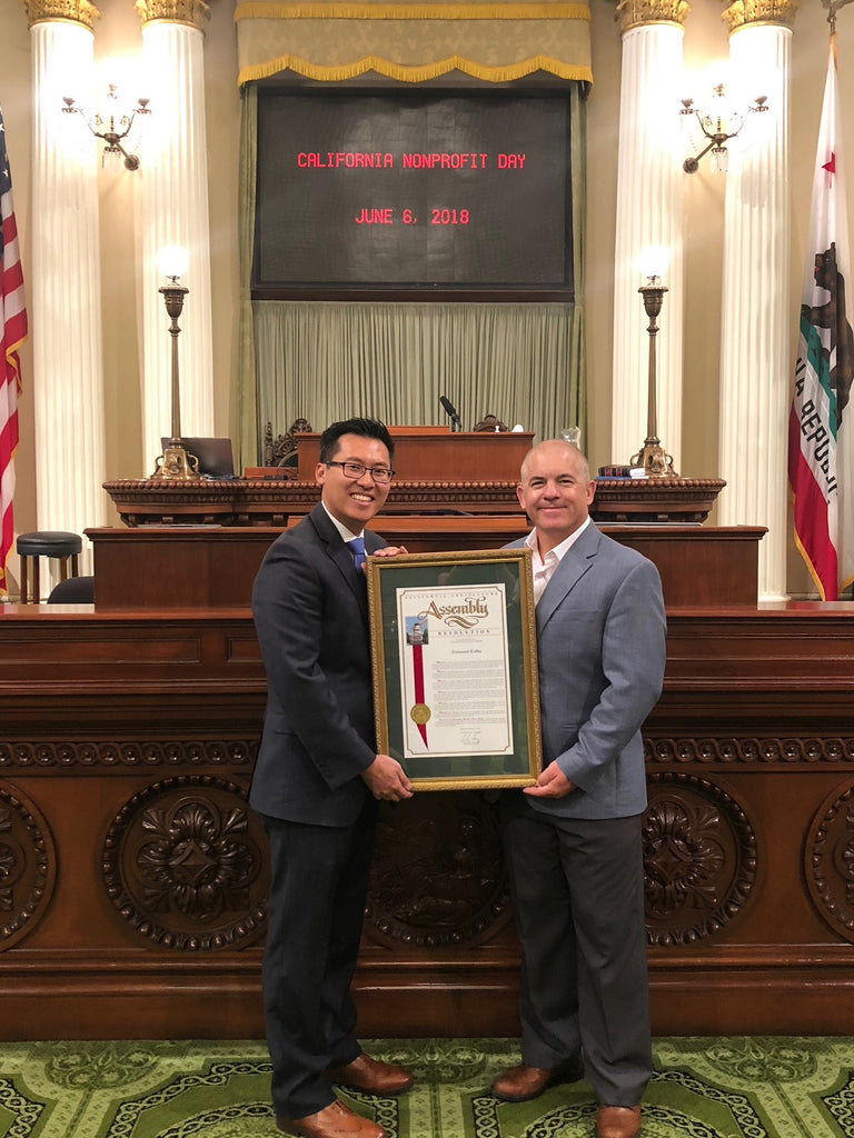 Assemblyman Fong Honors Covenant Coffee as 2018 Nonprofit of the Year