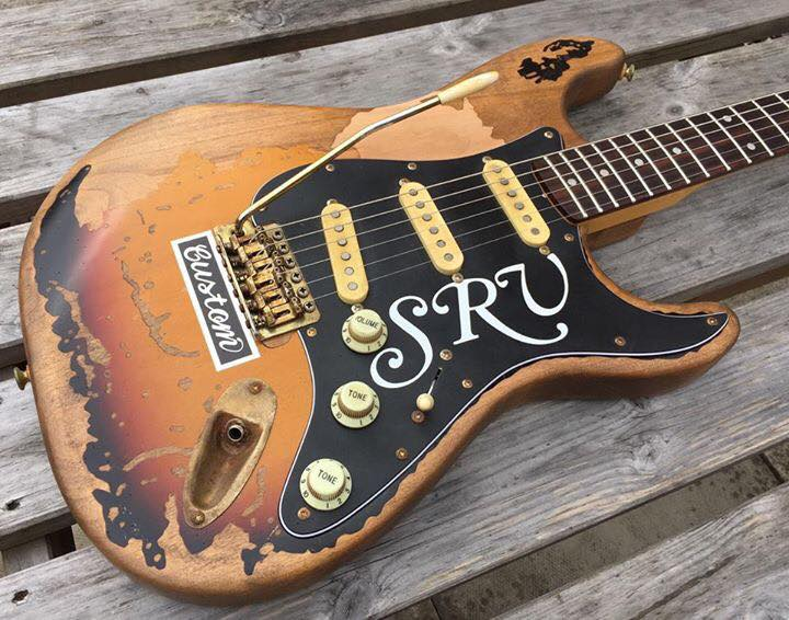 Fraser Guitars Artist Series SRV #1 Tribute Guitar