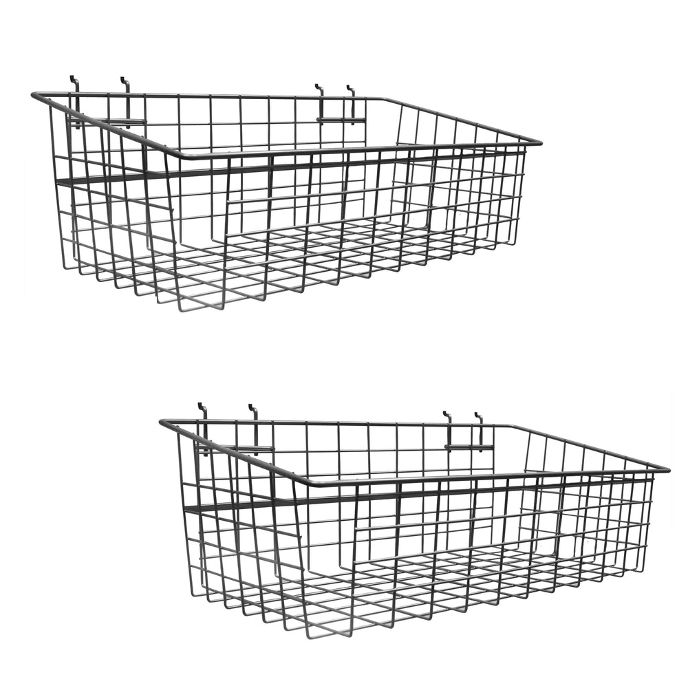 Basket 24 x 12.5 x 8 in. – 2 pack