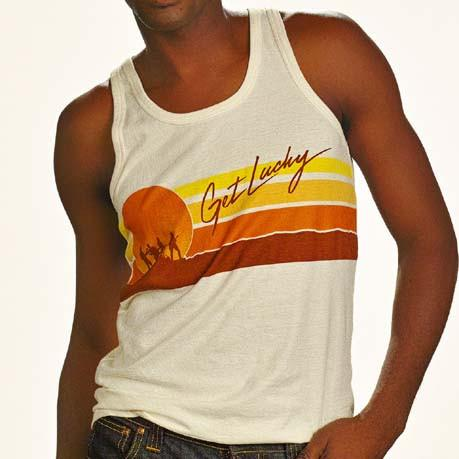 VINTAGE GET LUCKY MENS TANK TOP