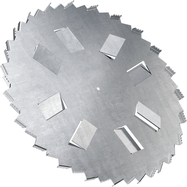 34 inch high flow dispersion blade with 5/8 inch bore