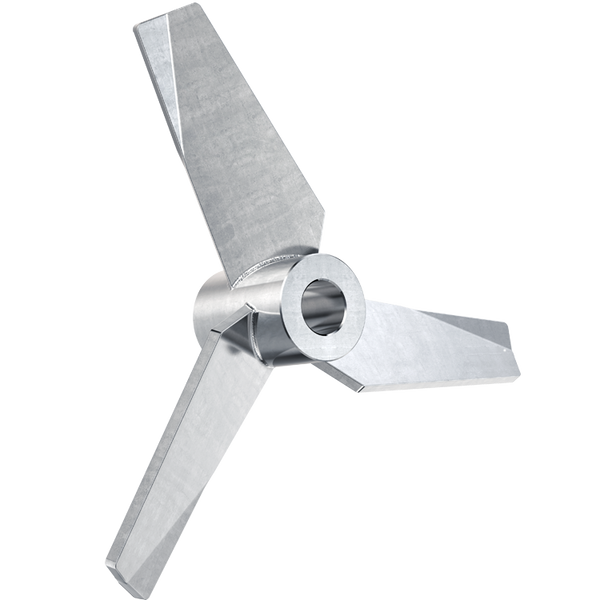 5.5 inch hydrofoil impeller with 3/4 inch bore