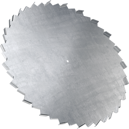 10 inch dispersion blade with 5/8 inch bore