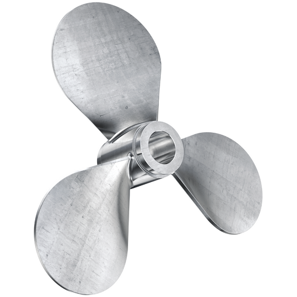 18 inch propeller with 2 inch bore