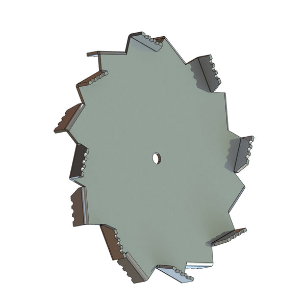 Ultra Shear Dispersion Blade, 34in Dia, 5/8in CH