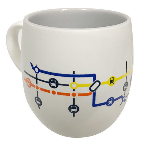 Commercial-Broadway Station Map Mug