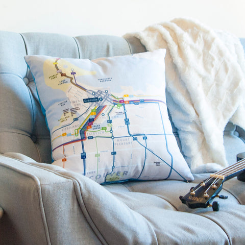 Wayfinding Throw Pillow