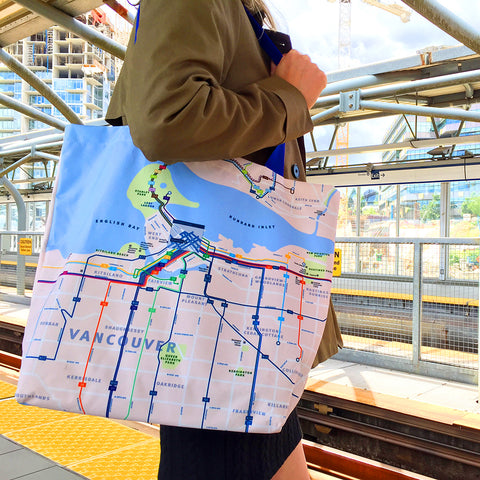 System Map Tote Bag
