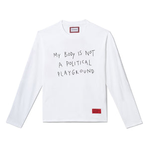 Political Playground Long Sleeve (White)