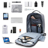 Anti Theft Waterproof Laptop Backpack with USB Charging - ModernKitchenMaker.com