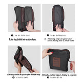 Large Capacity Waterproof Travel Bag Foldable into a Pouch - ModernKitchenMaker.com