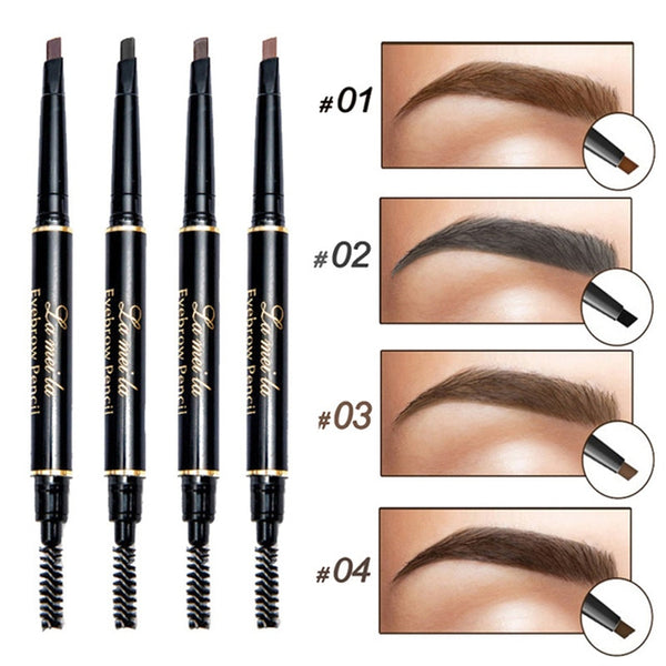 Eyebrow Enhancer Pencil Double Ended Waterproof Natural 3D Tint - ModernKitchenMaker.com