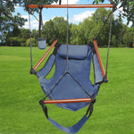 Deluxe Outdoor or Indoor Hammock Chair Solid Wood - ModernKitchenMaker.com