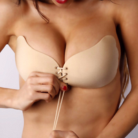 Strapless Seamless Push Up Silicone Wire Free Bra - ModernKitchenMaker.com