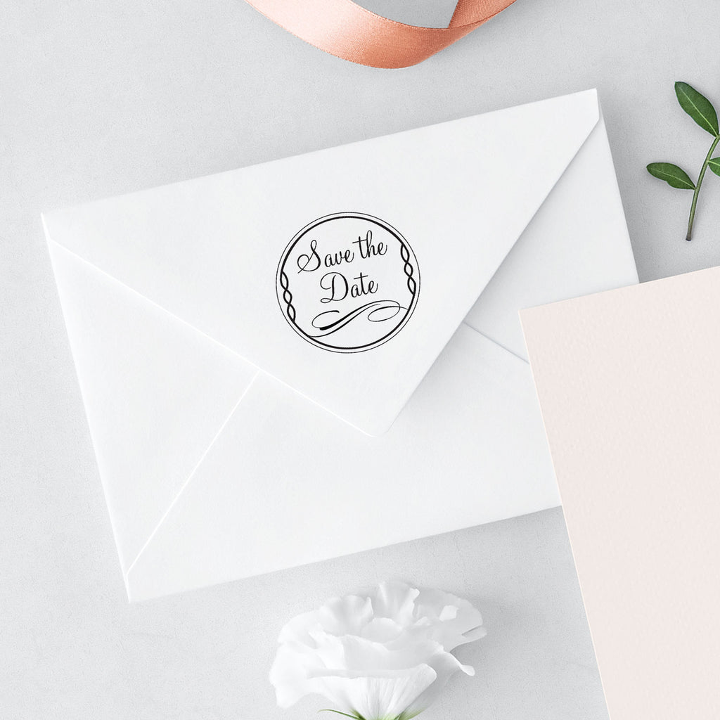 Bridal Ever After Wedding Suite Round Save The Date Mix and Match Designer Stamp