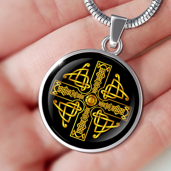 Celtic Cross Celtic Knot Premium Necklace - Streetwear Jewelry
