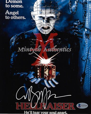 CB_63-8x10 Photo Autographed By Clive Barker