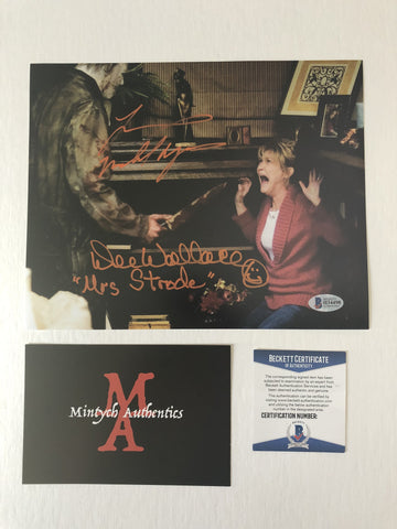 DWTM_05 - 8x10 Photo Autographed By Dee Wallace & Tyler Mane