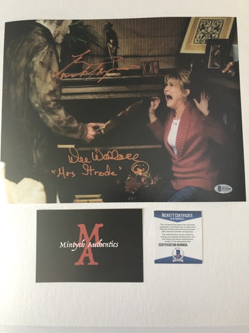 DWTM_07 - 11x14 Photo Autographed By Dee Wallace & Tyler Mane